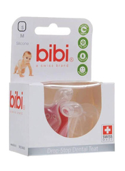 Bibi Drop-Stop Dental Teat, 103301, Small, 2 Pieces, Clear