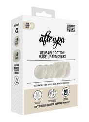 AfterSpa Reusable Cotton Makeup Remover, Beige