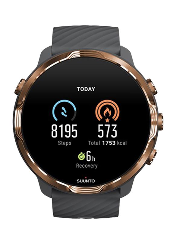 Suunto 7 Smartwatch, GPS, Graphite Copper