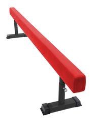 Dawson Sports Lower Height Adjustable Balance Beam, Red
