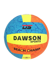 Dawson Sports Beach Champ Volleyball, Size 5, Multicolor