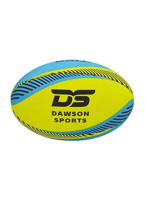 Dawson Sports Pro Beach Rugby Ball, Size 5, Yellow