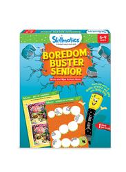 Skillmatics Boredom Buster Senior, Learning & Education Toy, Ages 6+, Multicolour