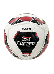 Dawson Sports Mission Football, Size 5, Red/White