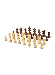 Dawson Sports Chess Pieces, Brown/Beige