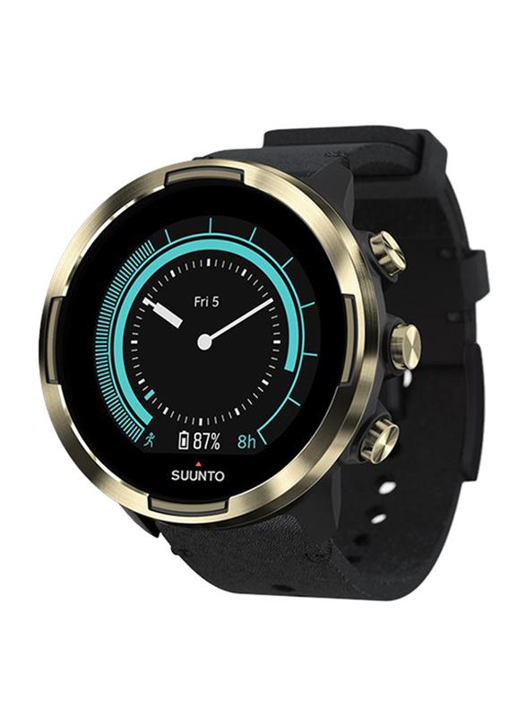 Suunto 9 Baro Smartwatch, GPS, Gold/Black