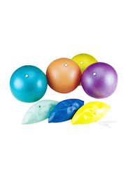 Dawson Sports Puff Ball, 4 Pieces, Multicolor