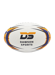 Dawson Sports International Rugby Ball, Size 5, White