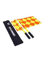 Dawson Sports Lineman's Flag, 2 Pieces, Red/Yellow