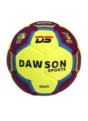 Dawson Sports Bravo Handball, Size 0, Purple/Yellow