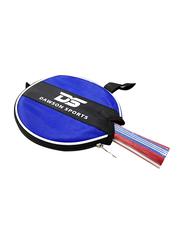 Dawson Sports Club Table Tennis Racket, Red/Blue