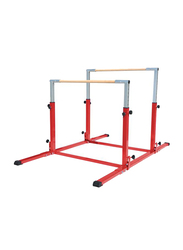 Dawson Sports Training Kids Uneven Bars, Red