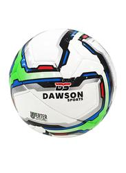 Dawson Sports Club Football, Size 4, Green/White