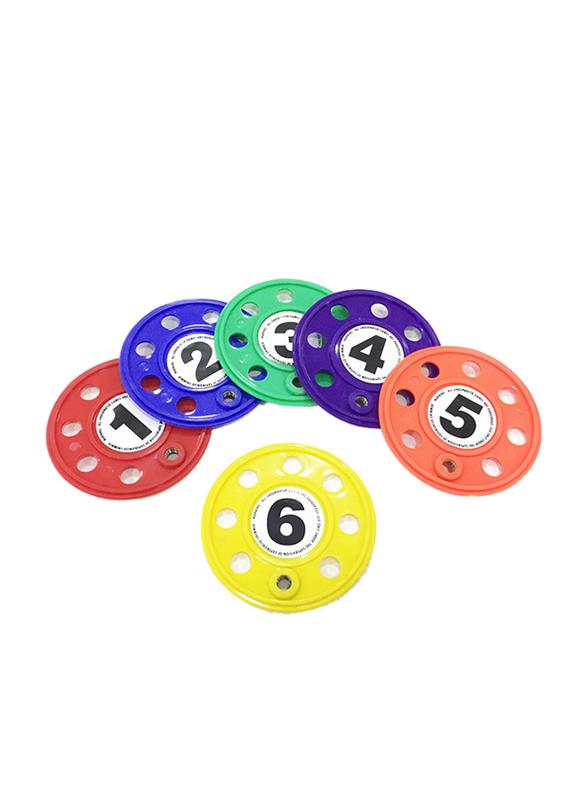 Dawson Sports Dive Disc, 6 Pieces, Multicolor