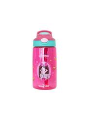 Waicee 500ml Little Princess Plastic Kids Water Bottle, Pink