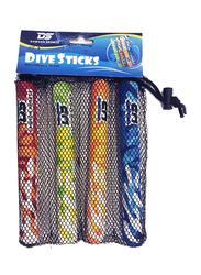 Dawson Sports Dive Sticks, 4 Pieces, Multicolor