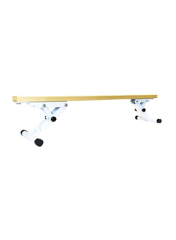 Dawson Sports Club Balance Beam, Beige/White