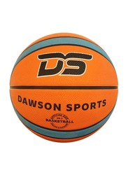 Dawson Sports Rubber Basketball, Size 5, Blue/Brown