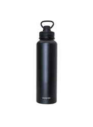 Waicee 1.5 Ltr Stoutt Stainless Steel Thermal Insulated Vacuum Flask, Matte Black