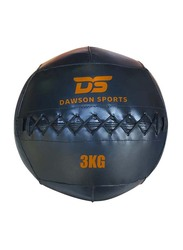 Dawson Sports Cross Training Wall Ball, Black, 3KG