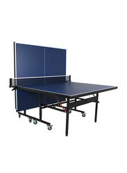 Dawson Sports Indoor School Table Tennis Table, Blue