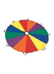 Dawson Sports Rainbow Parachute with 20 Handles, 6 Meters, Multicolor