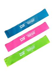 Dawson Sports Latex Resistance Mini Bands, 5 Pieces, Multicolor