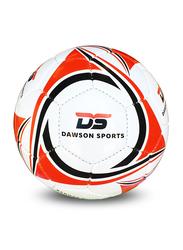Dawson Sports International Football, Size 4, Red/White