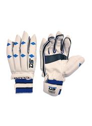 Dawson Sports Batting Gloves for Boys, White