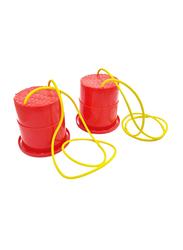 Dawson Sports Bucket Stilts Pair, Red