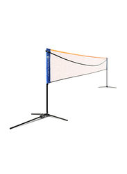 Dawson Sports Pop Up Tennis/Badminton Net, 5 Meter, Yellow