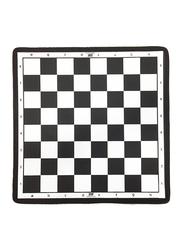 Dawson Sports Chess Board Sheet, Black/White