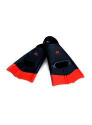 Dawson Sports Swimming Fins, UK Size 3-5, 2 Pieces