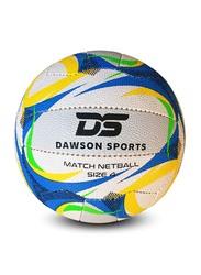 Dawson Sports Match Netball, Size 4, Blue/White