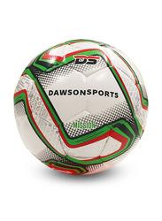 Dawson Sports Mission Football, Size 3, Green/White