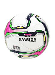 Dawson Sports Club Football, Size 3, Pink/White