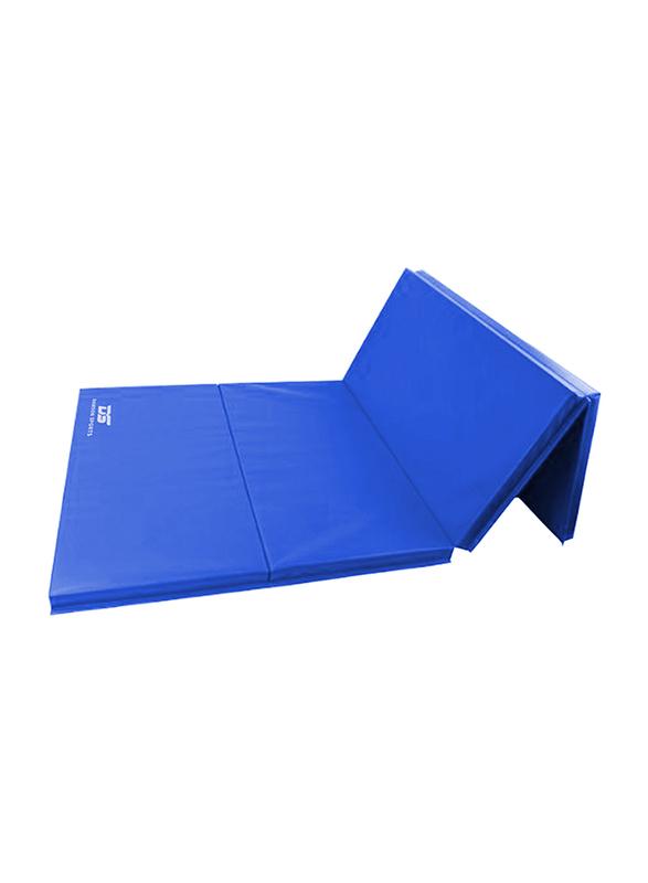 Dawson Sports Gymnastic Folding Mat, Blue