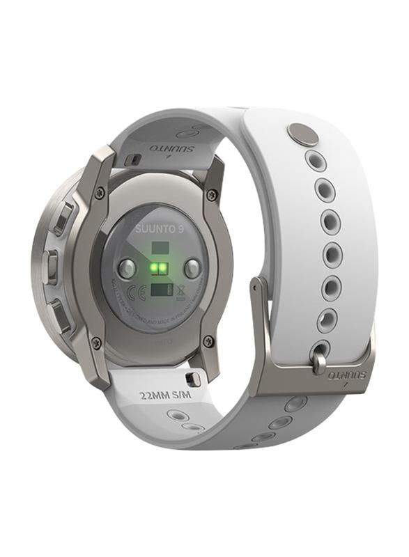 Suunto 9 Peak Smartwatch, GPS, Birch White