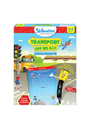 Skillmatics Transport Off We Go, Learning & Education Toy, Ages 3+, Multicolour