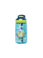 Waicee 500ml Little Tiger Plastic Kids Water Bottle, Blue