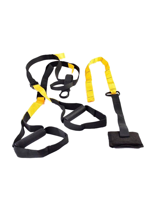 Dawson Sports Suspension Trainer, Black/Yellow