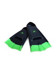 Dawson Sports Swimming Fins, UK Size 7-9, 2 Pieces