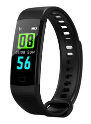 Dawson Sports Health Band Smart Fitness Tracker, Black Case with Black Band