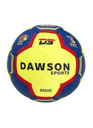Dawson Sports Bravo Handball, Size 2, Blue/Yellow