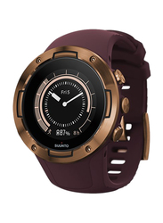 Suunto 5 Smartwatch, GPS, Burgundy Copper