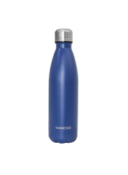 Waicee 500ml City Stainless Steel Thermal Insulated Vacuum Flask, Navy Blue
