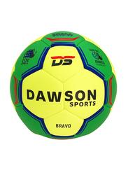 Dawson Sports Bravo Handball, Size 3, Green/Yellow