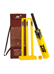 Dawson Sports Cricket Set, Size 6, Yellow