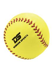 Dawson Sports Leather Softball, 11 inches, Yellow