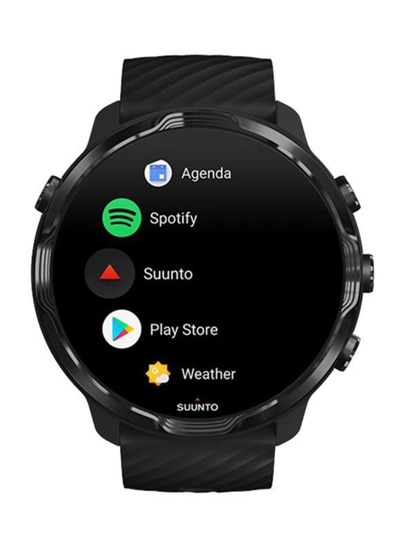 Suunto 7 Smartwatch, GPS, Black/Lime